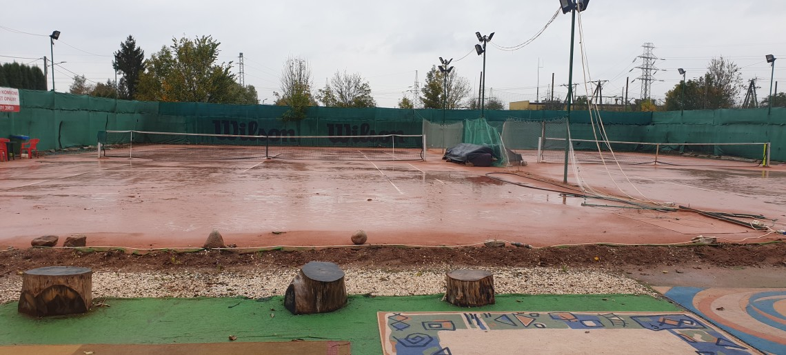 Koniec letniego sezonu tenisowego